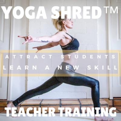 Yoga Shred Teacher Training