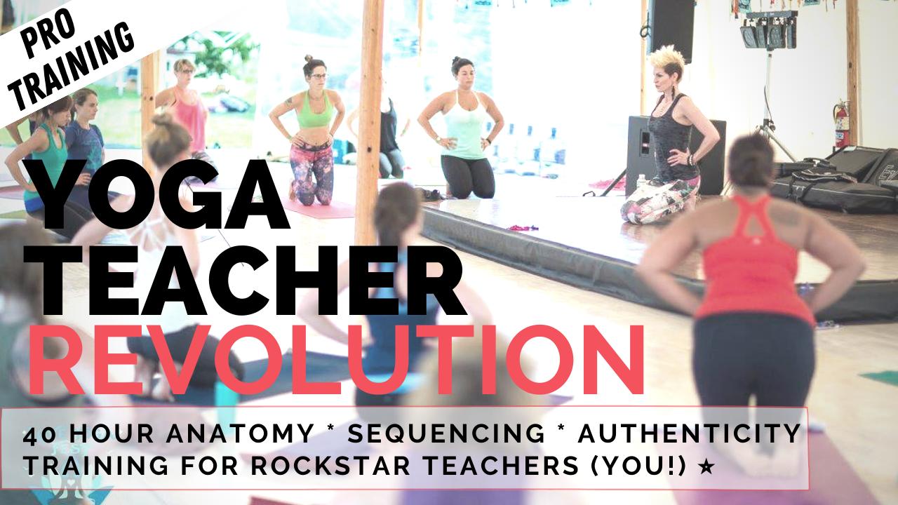 Fierce Yoga Fitness Courses With Sadie Nardini